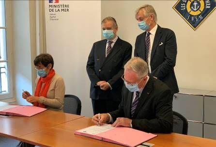 Sauveteurs en mer – Signature d'une feuille de route partenariale entre l'Etat et la SNSM