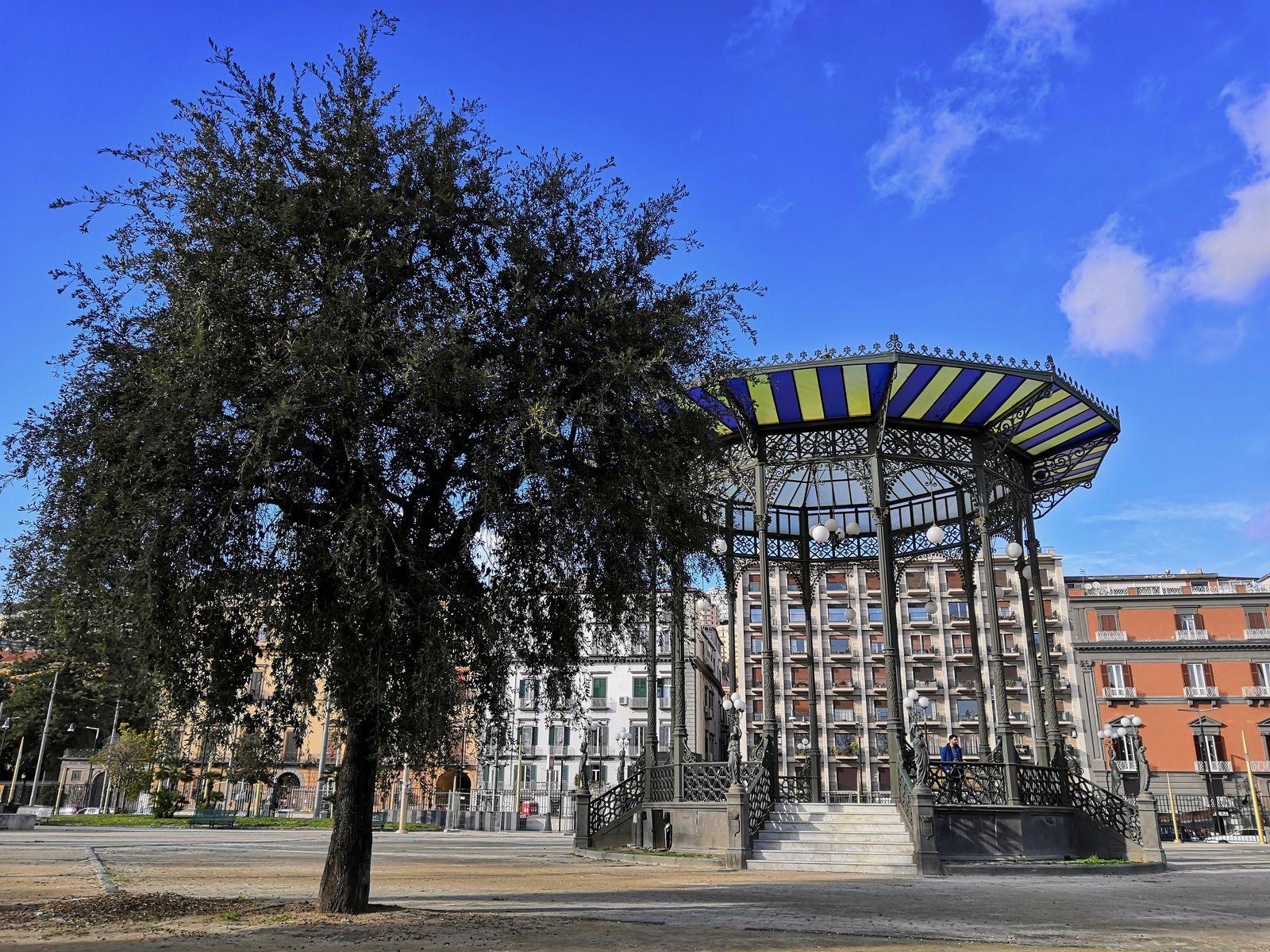 Cassa Armonica, jardins publics de la Villa Communale