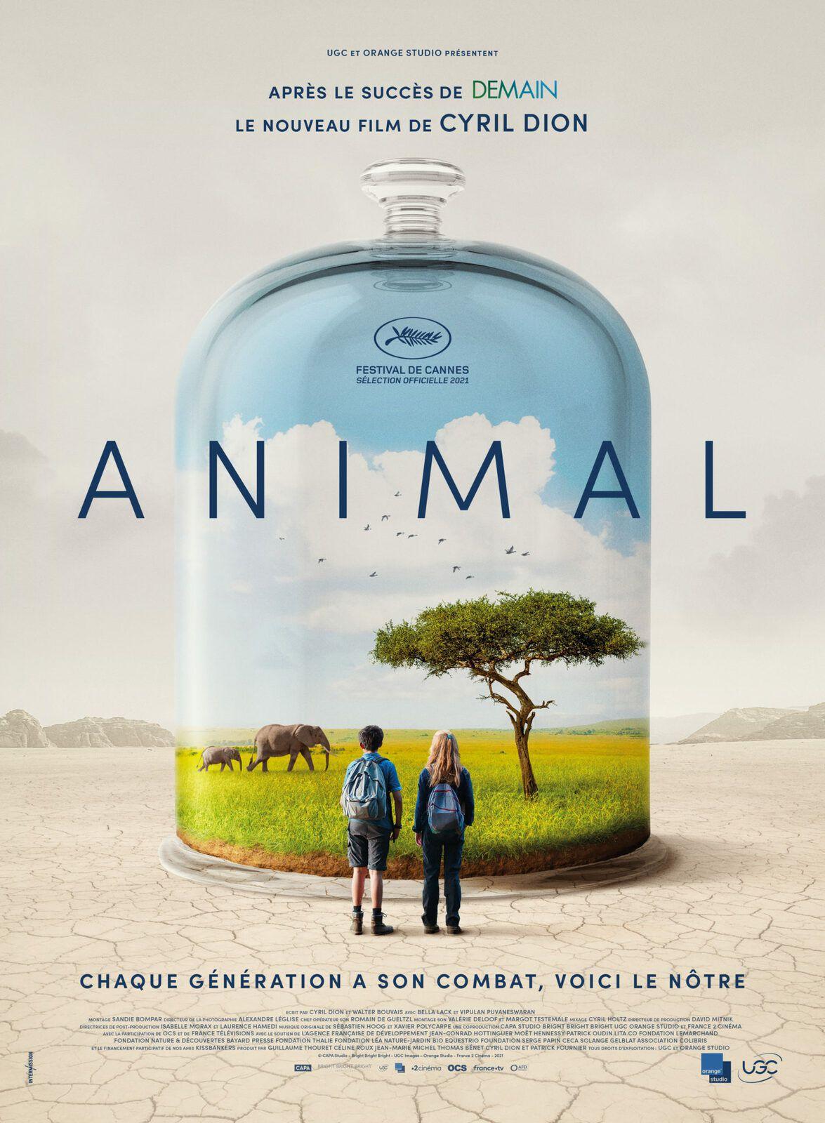 Nouvelle bande-annonce du film documentaire Animal, de Cyril Dion.