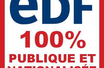 Avec le plan « Hercule » : éclatement, privatisation et envolée des tarifs EDF