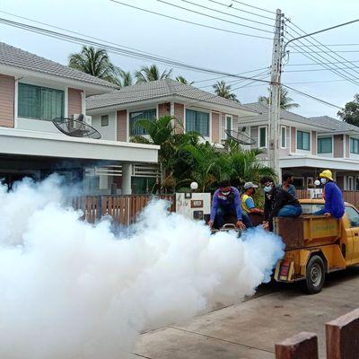 Pulvérisation anti-moustiques - Scène de la vie quotidienne (21-05)
