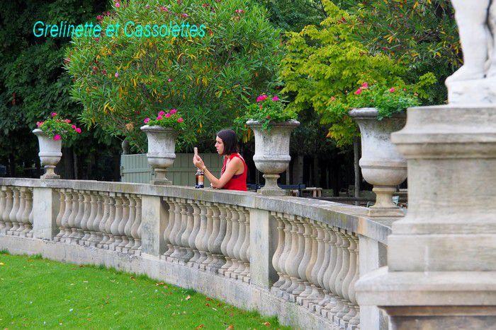 Etre sous le charme du Jardin du Luxembourg