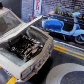 PEUGEOT 504 INJECTION SAFARI N°21 1969 NOREV 1/43 - car-collector.net