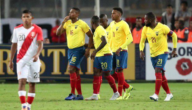La selección ecuatoriana consiguió ambas victorias en esta fecha FIFA