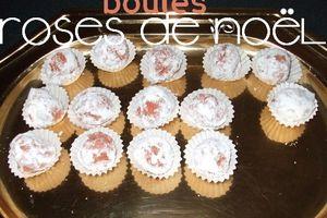 boules roses de Noël: recette de Yaëlle44