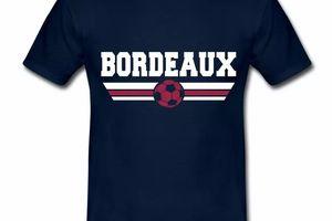 T Shirt Aquitaine bleu m homme Bordeaux foot