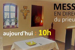 ce dimanche 22 mars messe à 10h00  (et non 11h)