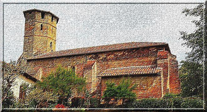 Diaporama église fortifiée de Montégut