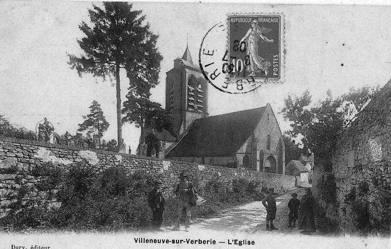 Album - le village de Villeneuve-sur-Verberie (Oise)