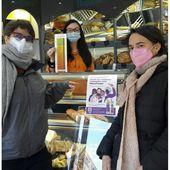 Tarare. Des sacs à pain pour alerter sur les violences conjugales