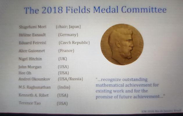 Qui choisit les lauréats de la Médaille Fields ?