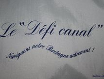 """une adhésion """" soleil """" pour l'association Défi Canal !"""
