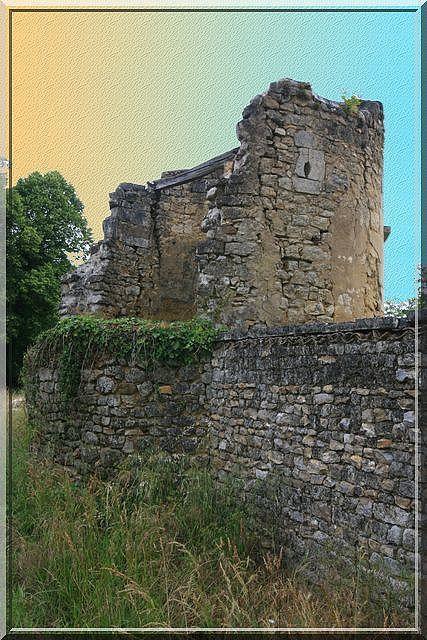 Diaporama château de Châtenet à Rétaud