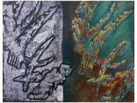 Dessin et peintures de Danièle Mengual (monotypes - cliquez pour agrandir)