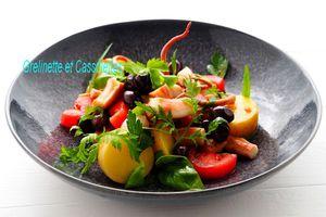 Salade de Poulpe aux Pommes de Terre de l'Ile de Ré (Astuce de Cuisson)