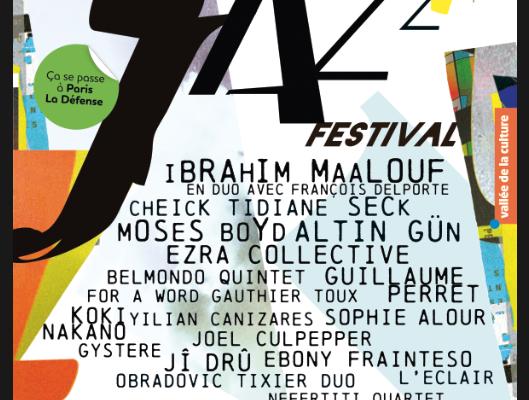 📌  La Défense Jazz Festival revient du 21 au 27 septembre