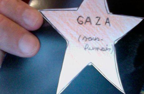 PORTER L'ETOILE POUR GAZA?