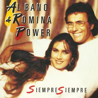 AL BANO Y ROMINA POWER - SIEMPRE SIEMPRE - SINGLE VINILO- 1986