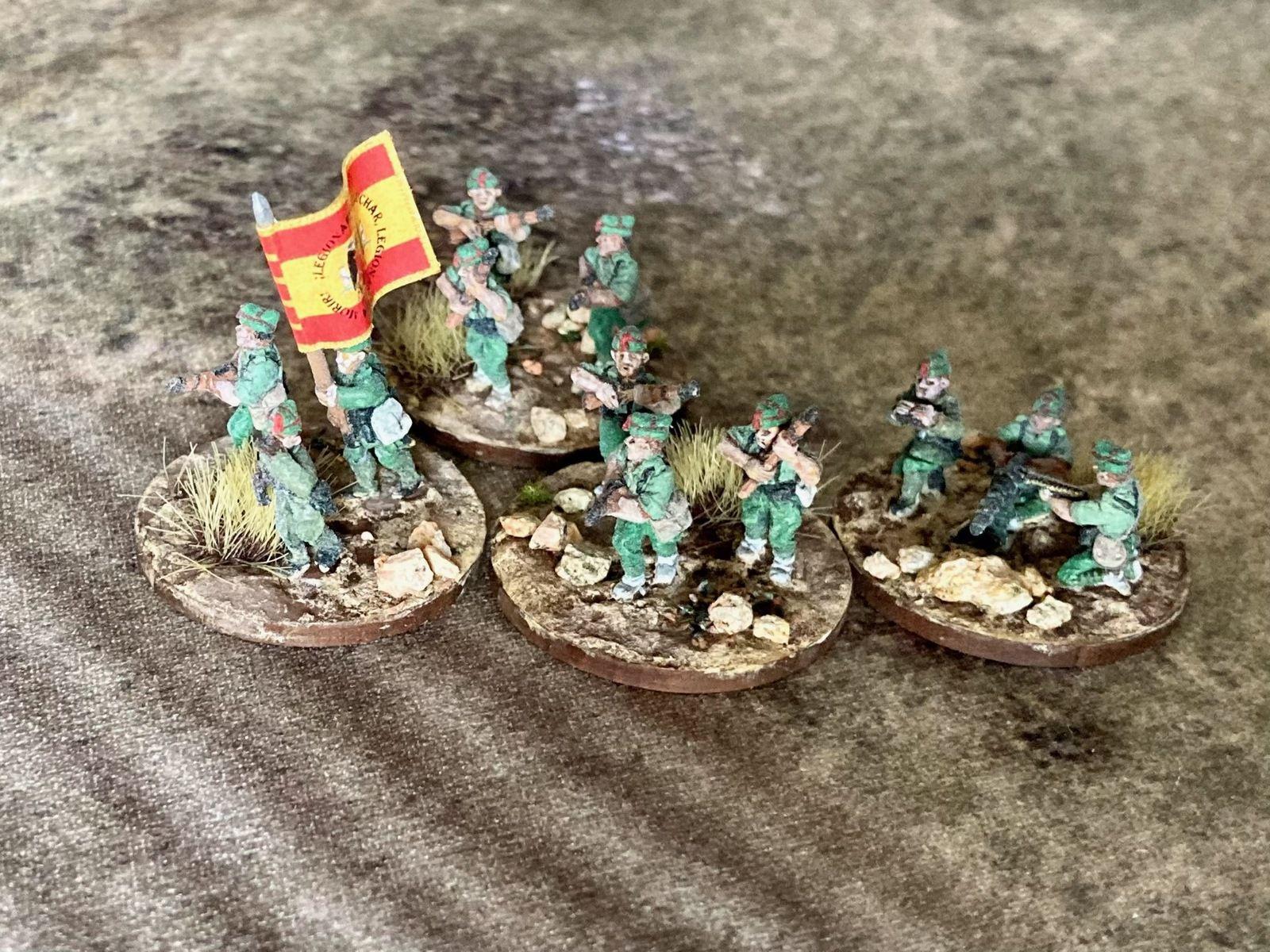 ¡No Pasarán! (6) : La Legión