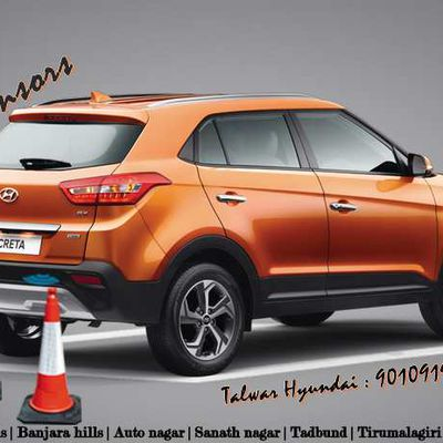 Rear Parking sensors in Hyundai New Creta are added features.