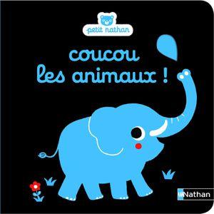 Petit Nathan : On s'habille ?; On se cache?; On fait du bruit?; Coucou les animaux ! et Bonjour on bébé !