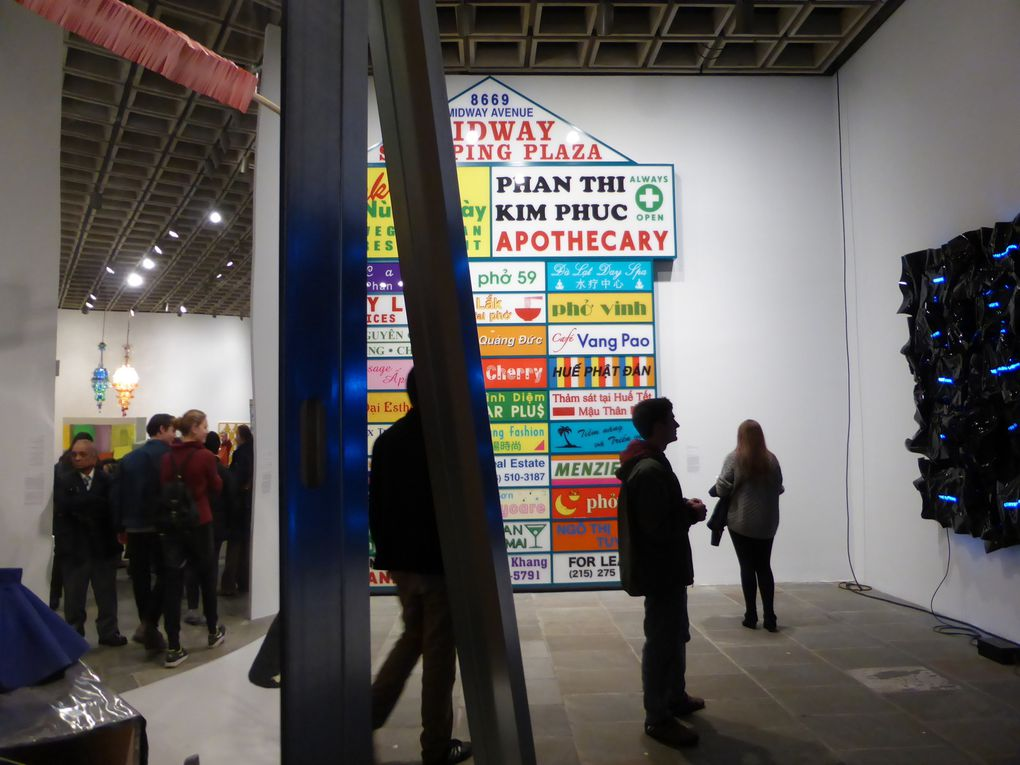 Ken Lum, Whitney Biennial 2014, New York © Photographies Gilles Kraemer