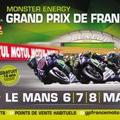 Moto GP : Grand Prix de France 2016 le dimanche 8 mai sur France 3. - LeBlogTvNews