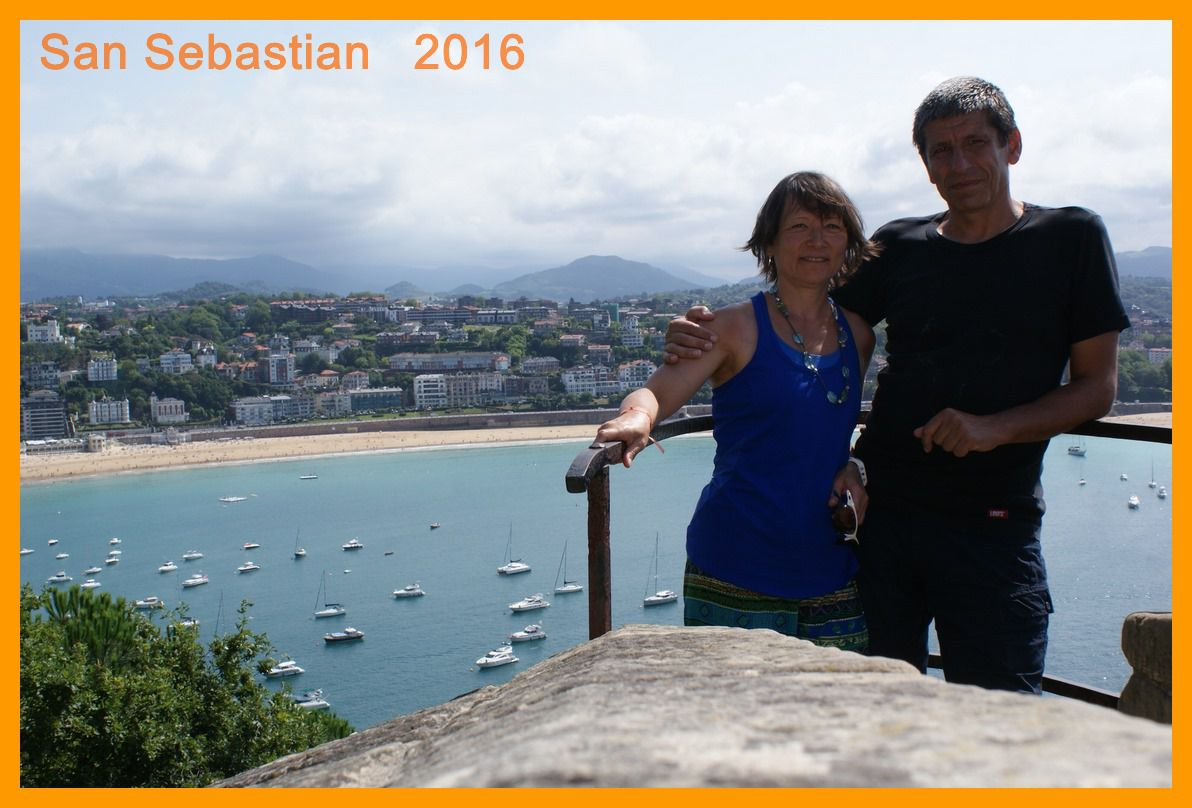 Irun  et San Sebastian (Espagne) 2016
