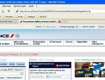 AIR FRANCE annonce sur son site une grève générale à patir du 19 octobre
