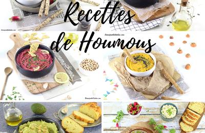 Compilation de mes Recettes de Houmous - La Star de l'Apéro!
