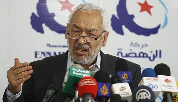 Rachid Ghannouchi, président d'Ennahda