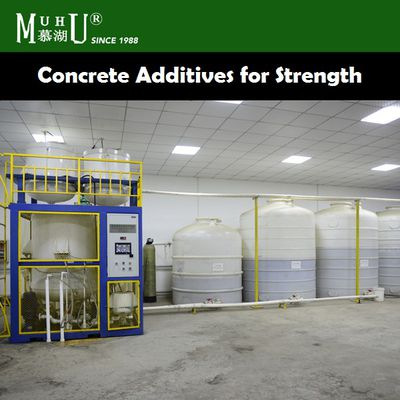 Uses of Concrete additives for strength