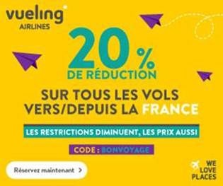 code promotion vueling