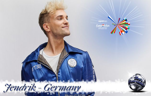 Germany 2021 - Jendrik Sigwart (I Don't Feel Hate)