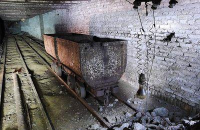 L'intérieur de la mine La Paix à Algrange vu par des spéléos en 2015
