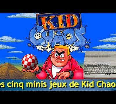 Amiga - Les cinq minis jeux de Kid Chaos (Plateforme 1994)