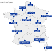 Réforme territoriale : découvrez la carte des...