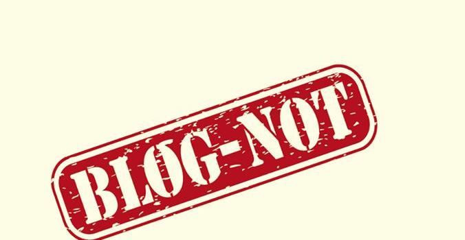 Publication de mon roman Blog-not!