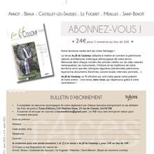 """Radio verdon et Annabel Chauvet nous présente un nouvel  projet  """"au fil du Coulomp"""""""