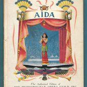 GIUSEPPE VERDI A NEW YORK : AIDA AL METROPOLITAN 1938