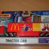 TRACTOR CAB MATCHBOX 1/87 PUBLICITE MAC DONALDS - car-collector.net