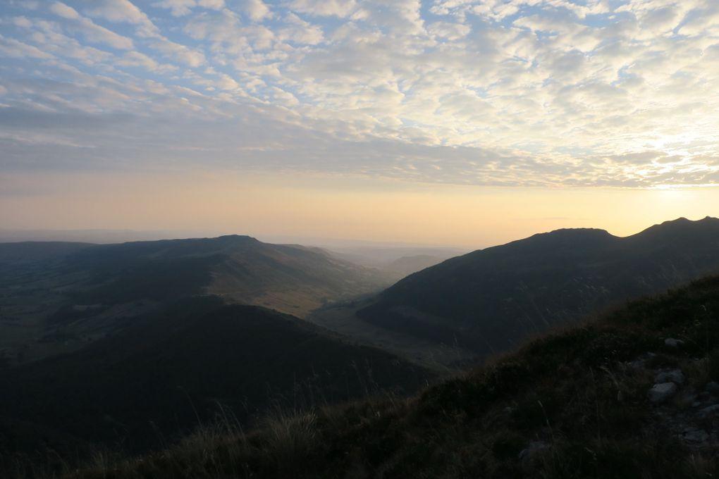 Lever de soleil sur le Puy Mary