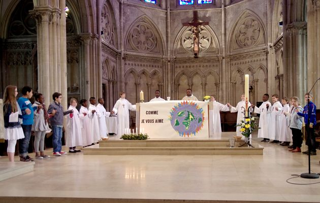 Messe en famille avril 2013