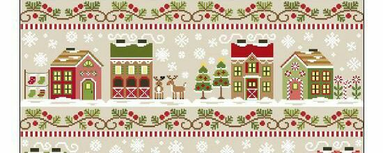 Santa's Village de Country Cottage Needelworks - 1