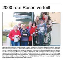 Heide-Kurier 14.3.12 -- DGB-Rosen zum Frauentag an SPD-Seniorinnen