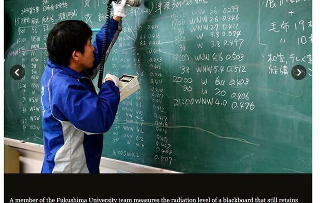 Fukushima unerased chalkboards to be preserved
