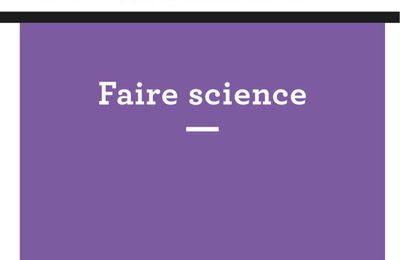 Faire science, n° 31 de la RHSH