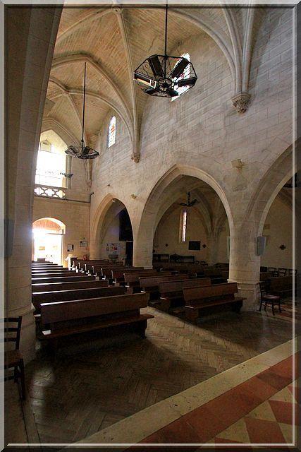 Diaporama église fortifiée de Tresses