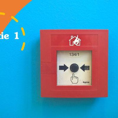 ~ Un incendie dans notre résidence ? Partie 1 _ Chronique d'une petite peanut # 2 ~