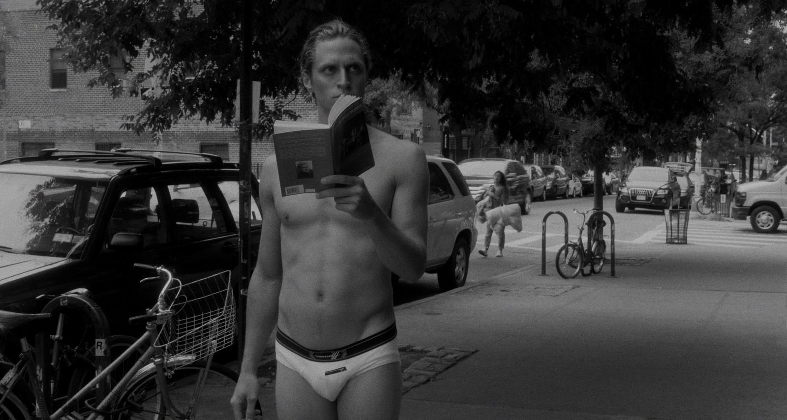 THE BRIEF EXISTENTIAL CRISIS OF A YOUNG UNDERWEAR MODEL
